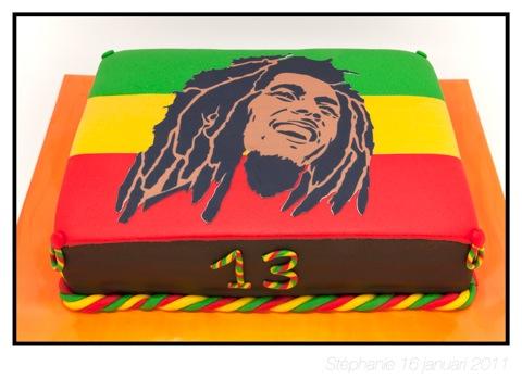 bob marley taart Thijs 13   Bob Marley taart | Taarten | .tirel.nl bob marley taart